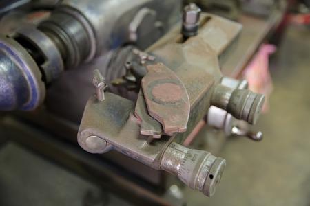 steel works: machinery works Stock Photo