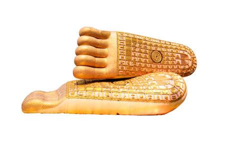 buddha feet  photo