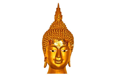 buddha head in thailand photo