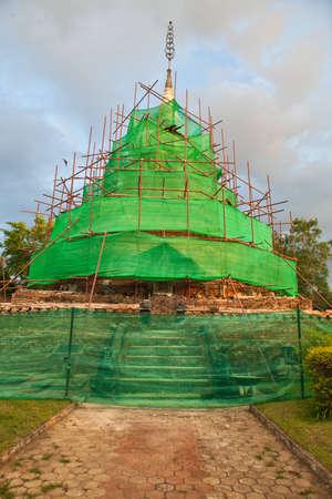 reconstruct: Reconstruction pagoda