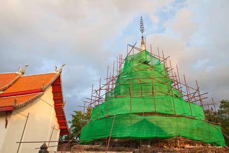 Reconstruction pagoda Stock Photo - 13832775