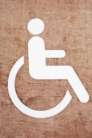 Disabled symbol  Stock Photo