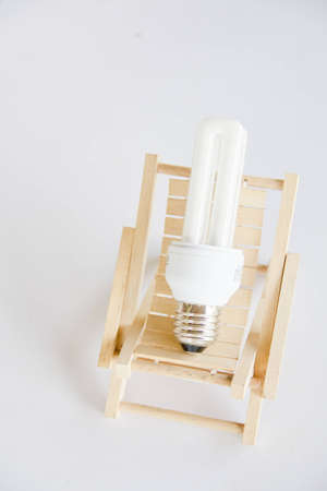 Economic lamp  photo