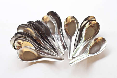 Many spoons Stock Photo - 14223214