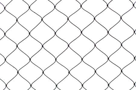 net isolate texture  Stock Photo - 15013908