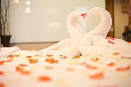 luna de miel: boda cama