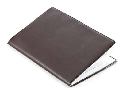 Little notebook on white isolate background  Stock Photo - 16442506