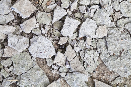 Broken cement texture  photo