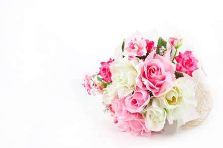 Celebration flower on white background