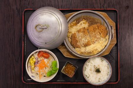 Katsudon Japanese food