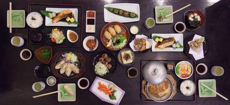 Japanese food big set