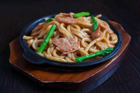 Ramen japanese food Stock Photo