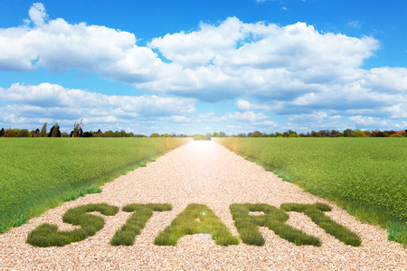 arduous: Concept of start for business