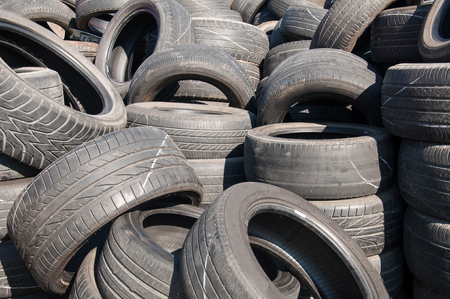 used: Pile of Used Tires