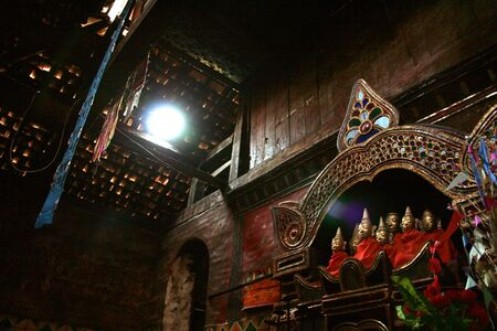 buddism:  The image of Buddha in MuengLa Myanmar