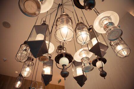lamp hang on cieling