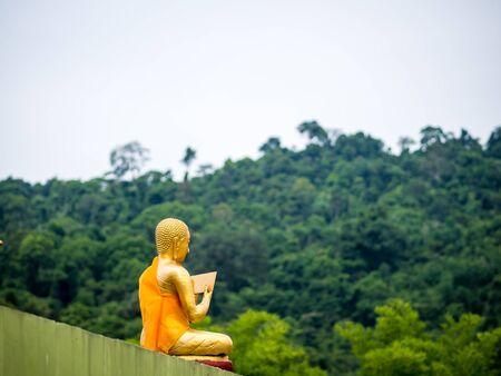 monk give a sermon
