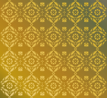 Vector pattern from decorative indian elements Stock Vector - 11410810