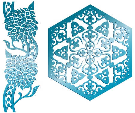 Vector of Islamic design element