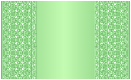 Vector of card with medieval ornaments for St. Patrick`s Day