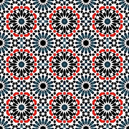 イスラムのパターン  イラスト・ベクター素材