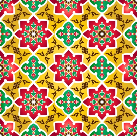 Traditional Floral Islamic Pattern photo