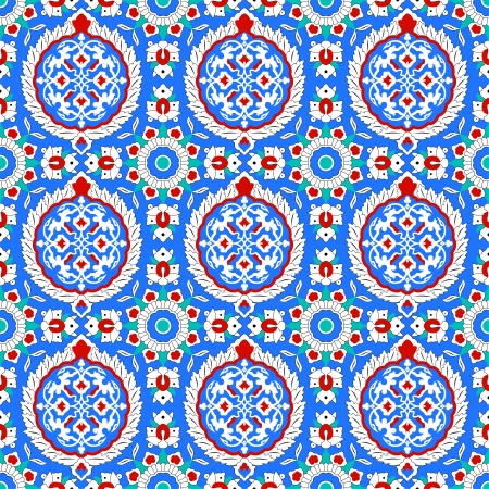 pattern in traditional Islamic design Vector
