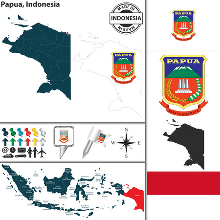 3,261 Indonesia Map Stock Vector Illustration And Royalty Free ...