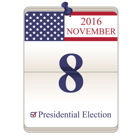 presidential: United States presidential election, November 8, 2016