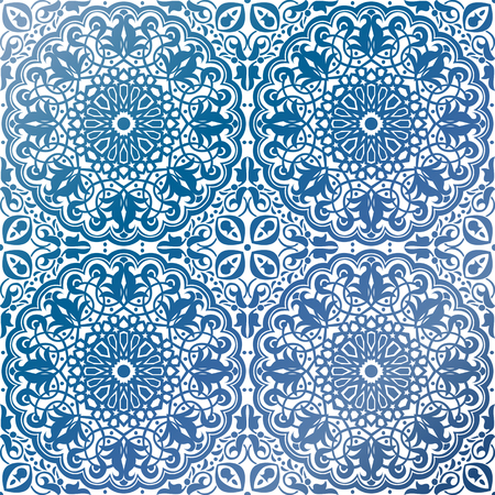 pattern antique: Vector of seamless Islamic ornaments