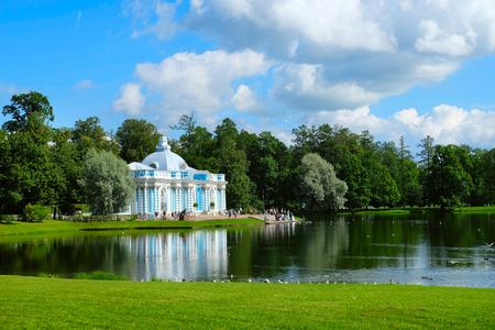 Photo of a Grotto Pavilion in Pushkin (Tsarskoe Selo), Russia