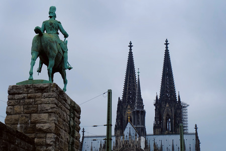 Photo of Cologne Cathedral, Cologne city, Germany 版權商用圖片