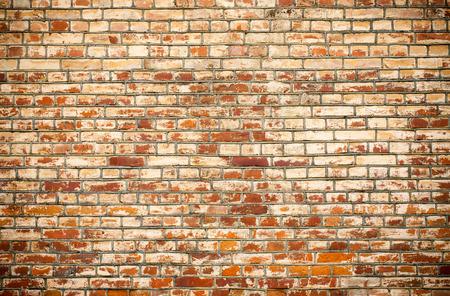 broken wall: Antecedentes de ladrillo textura de la pared