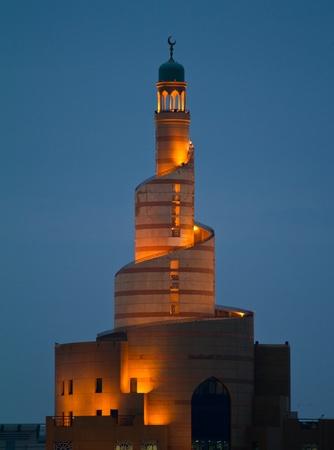 Spiral minaret of Doha
