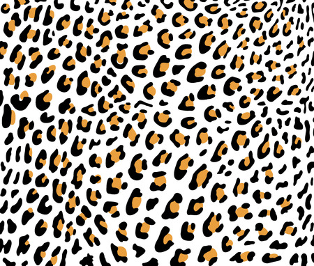 Leopard skin vector Ilustração