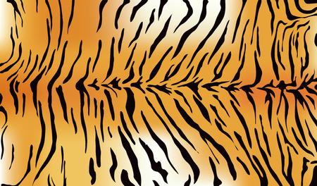 虎の毛皮のテクスチャ  イラスト・ベクター素材