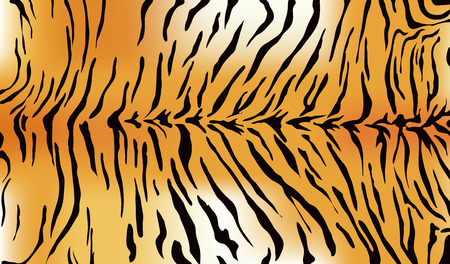 Tiger fur texture Stock Illustratie