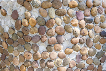 overbuilding: Stone wall texture Stock Photo