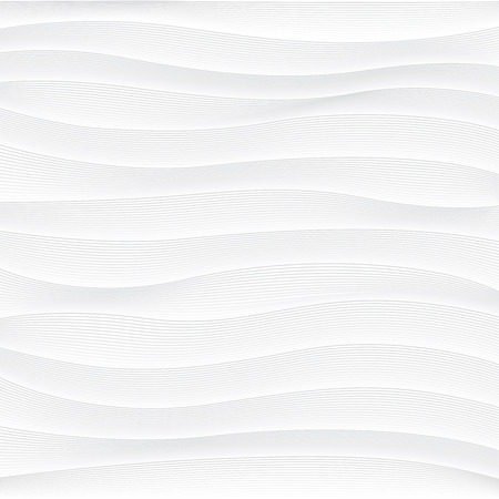 white background of abstract waves Illustration