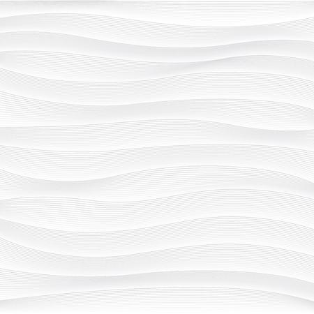 추상 파도의 벡터 흰색 배경 일러스트