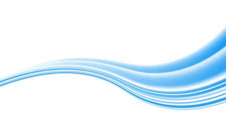 Vector witte achtergrond van abstracte golven