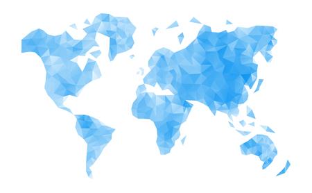 global map: World map