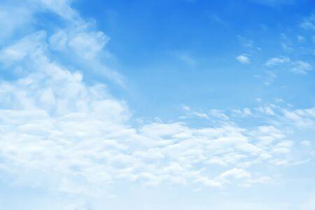summer  sunlight: Blue sky background Stock Photo