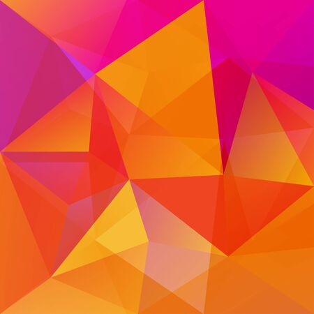 pattern corporate identity orange: geometric shapes vector background