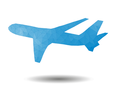 plane vector: Geometric plane. Vector illustration