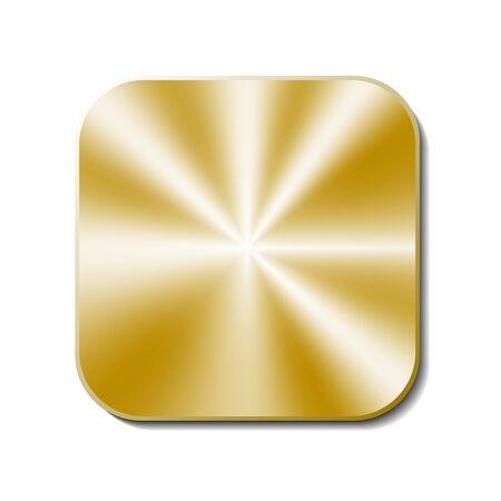 gold metal: gold Metal button
