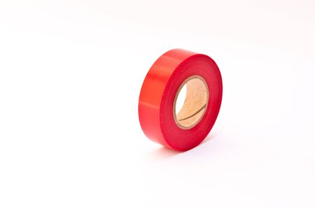 red electrician tape