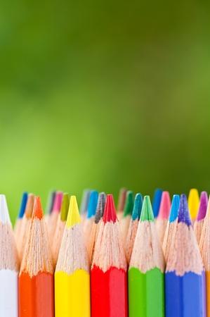colors pencil Stock Photo