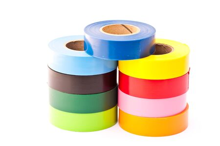 colors electrician tape photo