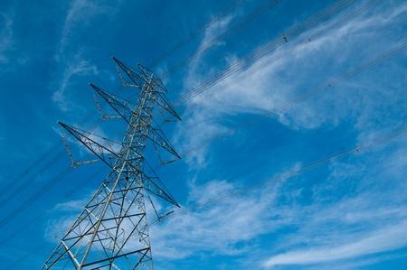 high voltage electric pillar